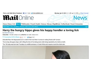 http://www.dailymail.co.uk/news/article-2121539/Prince-Harry-hippo-gives-happy-handler-loving-lick.html
