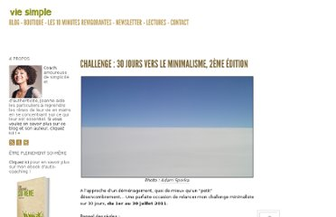 http://vie-simple.fr/vie-alternative/challenge-30-jours-vers-le-minimalisme-2eme-edition/#more-2015