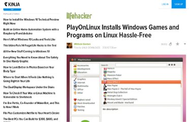 http://lifehacker.com/5897767/playonlinux-installs-windows-games-and-programs-on-linux-hassle+free