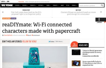 http://www.theverge.com/2012/3/30/2913262/realdiymate-wi-fi-connected-characters-made-with-papercraft