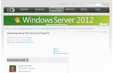 http://learn.iis.net/page.aspx/641/understanding-site-analysis-reports/