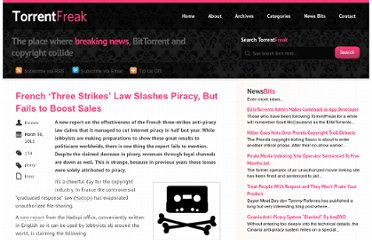 http://torrentfreak.com/french-three-strikes-law-slashes-piracy-but-fails-to-boost-sales-120330/