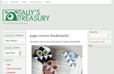 http://tallystreasury.com/2011/02/corner-page-bookmarks-3/