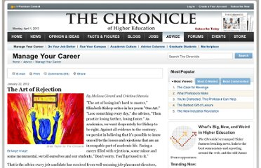 http://chronicle.com/article/The-Art-of-Rejection/130392/