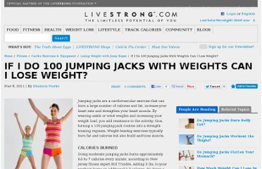 http://www.livestrong.com/article/398918-if-i-do-100-jumping-jacks-with-weights-can-i-lose-weight/