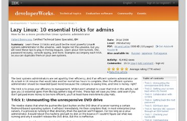 http://www.ibm.com/developerworks/linux/library/l-10sysadtips/index.html?ca=drs-