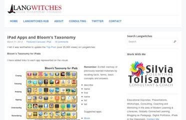 http://langwitches.org/blog/2012/03/31/ipad-apps-and-blooms-taxonomy/