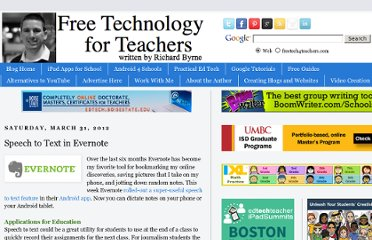 http://www.freetech4teachers.com/2012/03/speech-to-text-in-evernote.html