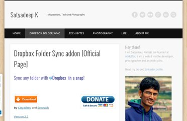 http://satyadeepk.in/dropbox-folder-sync/