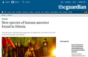 http://www.guardian.co.uk/science/2010/mar/24/new-human-species-siberia