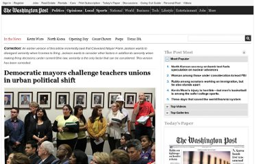 http://www.washingtonpost.com/nat/education/democratic-mayors-challenge-teachers-unions-in-urban-political-shift/2012/03/30/gIQA0xoJmS_story.html