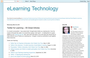 http://elearningtech.blogspot.com/2010/03/twitter-for-learning-55-great-articles.html