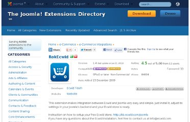 http://extensions.joomla.org/extensions/e-commerce/e-commerce-integrations/10720