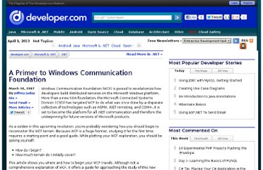 http://www.developer.com/net/net/article.php/3668901/A-Primer-to-Windows-Communication-Foundation.htm