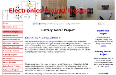 http://www.electronics-project-design.com/batterytester.html