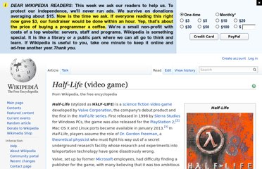 http://en.wikipedia.org/wiki/Half-Life_(video_game)