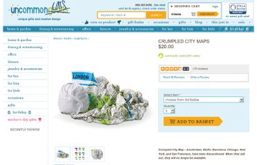 http://www.uncommongoods.com/product/crumpled-city-maps