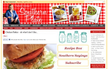 http://www.southernplate.com/2012/03/chicken-patties-the-one-thing-i-dont-like-about.html