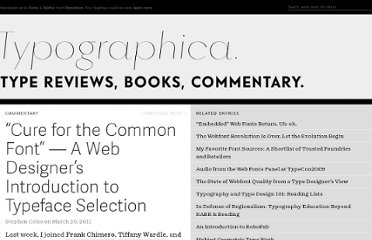 http://typographica.org/on-typography/intro-to-typeface-selection/