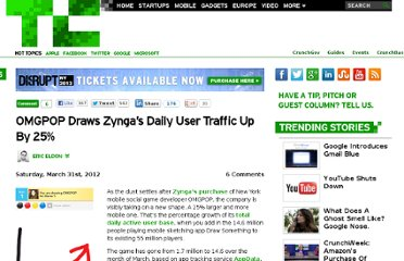 http://techcrunch.com/2012/03/31/omgpop-draws-up-zyngas-traffic-a-25-increase-in-total-daily-users/