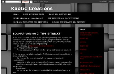http://kaoticcreations.blogspot.com/2011/05/sqlmap-volume-2-tips-tricks.html