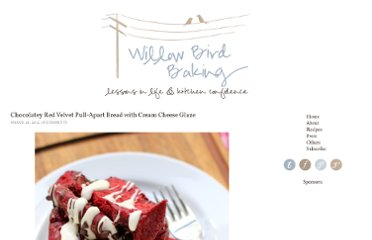 http://willowbirdbaking.com/2012/03/26/chocolatey-red-velvet-pull-apart-bread-with-cream-cheese-glaze/