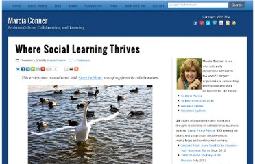 http://marciaconner.com/blog/social-learning-thrives/