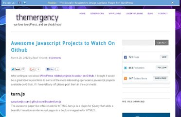 http://themergency.com/awesome-javascript-projects-to-watch-on-github/