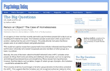 http://www.psychologytoday.com/blog/the-big-questions/201203/person-or-object-the-case-homelessness