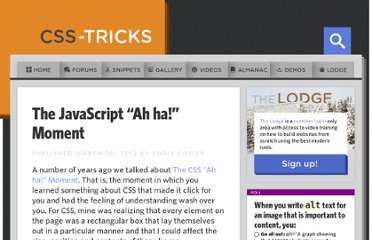 http://css-tricks.com/the-javascript-ah-ha-moment/