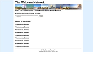 http://www.the-webcam-network.com/search.php?q=Furstenberg