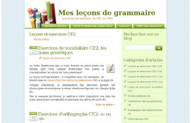http://mes-lecons-de-grammaire.fr/index.php?category/Le%C3%A7ons-et-exercices-CE2
