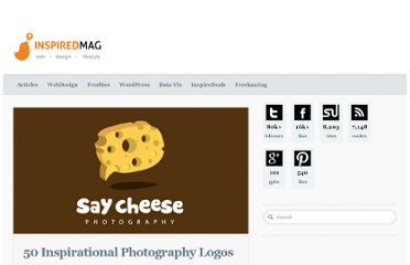 http://inspiredm.com/50-inspirational-photography-logos/