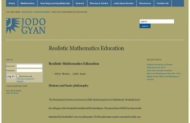 http://jodogyan.org/2011/04/02/realistic-mathematics-education/
