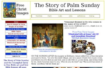 http://freechristimages.org/biblestories/story_of_palm_sunday.htm