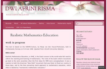 http://dwiafrini.wordpress.com/all-about-mathematics/realistic-mathematics-education/