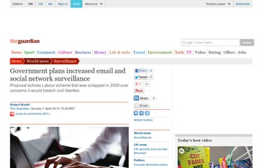 http://www.guardian.co.uk/world/2012/apr/01/government-email-social-network-surveillance