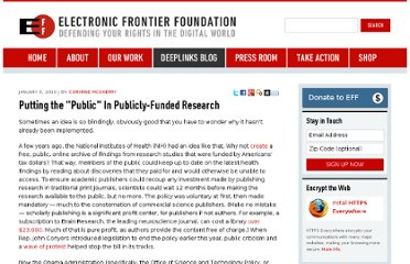 https://www.eff.org/deeplinks/2009/12/putting-public-publicly-funded-research