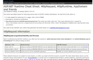 http://duartes.org/gustavo/articles/Asp.net-Runtime-Cheat-Sheet-HttpRequest-HttpRuntime.aspx
