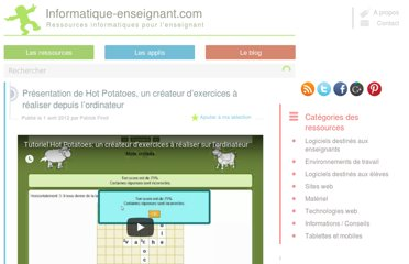 http://www.informatique-enseignant.com/hot-potatoes-createur-exercices-sur-ordinateur/