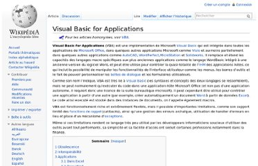 http://fr.wikipedia.org/wiki/Visual_Basic_for_Applications
