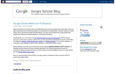 http://googlescholar.blogspot.com/2012/04/google-scholar-metrics-for-publications.html