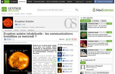 http://www.maxisciences.com/%e9ruption-solaire/eruption-solaire-inhabituelle-les-communications-brouillees-ce-mercredi_art15093.html