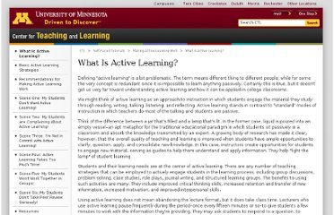 http://www1.umn.edu/ohr/teachlearn/tutorials/active/what/index.html