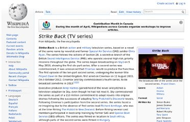 http://en.wikipedia.org/wiki/Strike_Back_(TV_series)