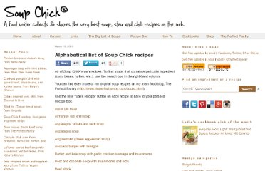 http://www.soupchick.com/soup-list-by-name.html