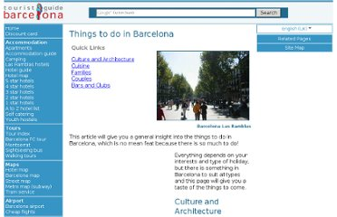 http://www.barcelona-tourist-guide.com/en/activities/things-to-do-barcelona.html