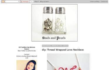 http://www.studs-and-pearls.com/2012/03/thread-wrapped-love-necklace.html