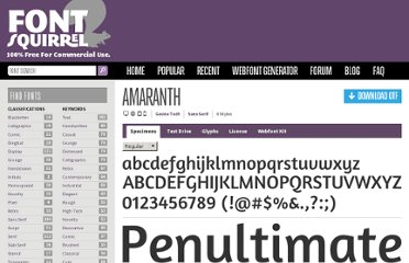 http://www.fontsquirrel.com/fonts/amaranth