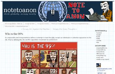 http://notetoanon.com/2011/10/26/who-is-the-99/